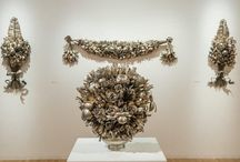 Artist Turns Old Silver Kitchen Utensils Into Blooming Flower Bouquets