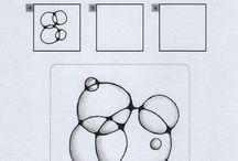 zentangle bubbles
