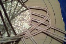 A.Nápady do domu papírové pletení