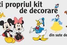 Promotia Toamnei 2015 / Toamna vine cu noutati in decorare.  Kit decorare Disney  http://www.stickereonline.ro/magazin-on-line/476-kit-decorare-personalizat.html