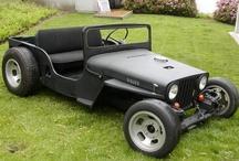 Jeep Willys - JeepRat Rod - Modifications