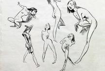 Gesture/ Life drawing