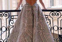 Prewedding gown