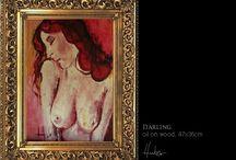 FESTMÉNYEIM KÖZÜL / oil on panel...mostly :)  http://hubervili.wix.com/huber-vilmos-artist
