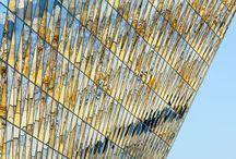 Glazing. New parametric / Contemporary Architecture glass skins.