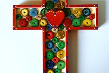 art - crosses... / by Susie Carranza Studio