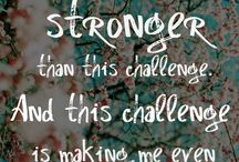 encouragement for cancer pts. / by Leslie Brence-Pendergrass