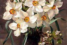 Vasos de flores……1960