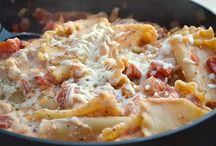 Recipes - Pasta Inspirations / by Krisha Larson Hoffman