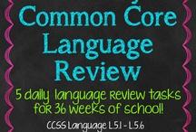 5th Grade Language Arts & Reading / by Katie Matthews
