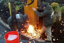 Installations / Some pictures of the Meyer Sign Co. team in action out at job sites. / by Meyer Sign Co. of Oregon