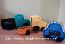Crochet - Cars,Trucks,Trains,Planes,Boats,Bikes,Rockets ! Etc.