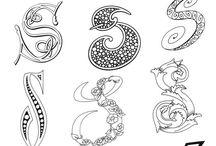 Doodle - bogstaver