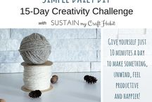 DIY Challenge / A collection of projects that you can do yourself or be apart of!