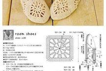 szydełkowe buty