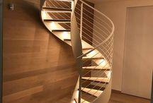 escalera redonda