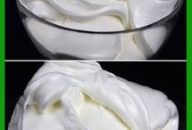 Diferentes rellenos para tortas y postres