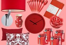 Color Inspiration: Red / by Margeaux