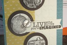 Stampin Up 2014-2015 catalogue cards to try