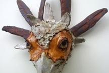 ceramic sculpture animals
