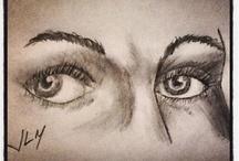 Mis dibujos / Empezando a aprender dibujo artístico en lápiz.