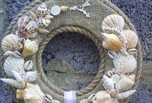 kapı süsü midye