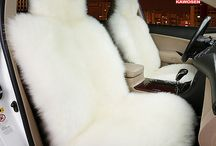 Natural Fur Seat  Cover