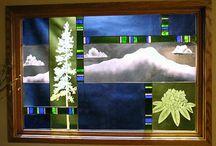 Kiki Glass / Beautiful stained glass by Kiki Renander of Missoula, MT