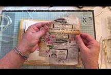 Junk Journals / Junk journals, smash books, ephemera, vintage, paper products
