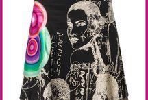 Jupe courte femme / Présentations de jupes courtes droite, crayon, plissée, à volants ou trapèze, mini voire maxi, au-dessus ou en-dessous du genou, de marque ou pas cher...en coton ou en jean mais aussi en jersey, en acrylique, en laine, en voile...bref tous les genres !
