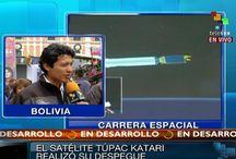 Túpac Katari el primer satélite boliviano  / Desde China junto a la delegación boliviana encabezada por el Presidente Evo Morales, fue lanzado al espacio el cohete con el satélite de comunicación Túpac Katari; llevando a la población rural de Bolivia mejoras en la comunicación. teleSUR