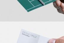 ~ Visitekaartjes / Een net wat andere manier om je bedrijf onder de aandacht te brengen door middel van visitekaartjes