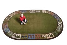 Earth Tone and Neutal Tone Classroom Rugs / Classroom Rugs designed with a more neutral toned palette