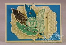 Stampin up Four Feathers / by Deborah Newman