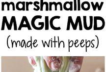 Marshmallow slime / Slime bellissimi e colorati
