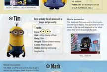 Minions / by Billie Anderson Rauser
