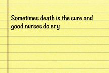 Being a nurse / by Melissa Carver