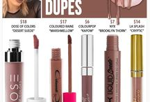 Kylie cosmetics/dupes