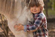 enfants et chevaux