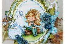 Little Darling Rubber Stamps / Lisbeth