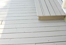 Painted decks
