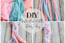♡ DIY für Hunde ♡ / Tolle Ideen für Handwerker und Handarbeiter. So machst Du Schönes für Deinen Hund ganz einfach selbst. #Hund | #DIY | Selbermachen | Handwerken | Nähen | Bauen |