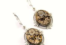 Steampunk Earrings / 0