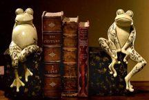Boekensteunen / Houd je boeken rechtop / by Bibliotheek De Meierij