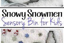 Snowman Week Topic
