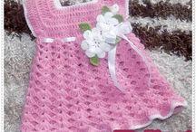 Crochet Baby Dress Pattern - NedinetPattern