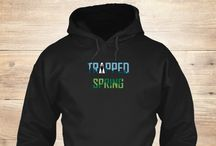 Trapped:Autumn and Trapped:Spring merchandise / from the author Raul F. O.
