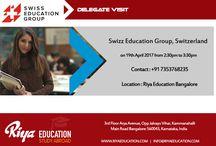 Swiss Education Group Delegate Visit|Riya Education
