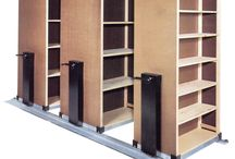 Lundia High Density Storage for Retail Stores / Our Lundia High Density Storage Systems being used in stores