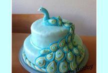 PEACOCK CAKEs / peacock design